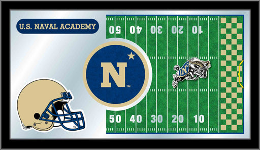US Naval Academy Football Bar Mirror | Man Cave Authority | MFtblUSNavA