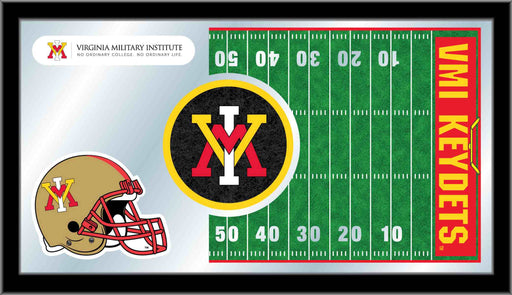 Virginia Military Institute Football Bar Mirror | Man Cave Authority | MFtblVAMilI