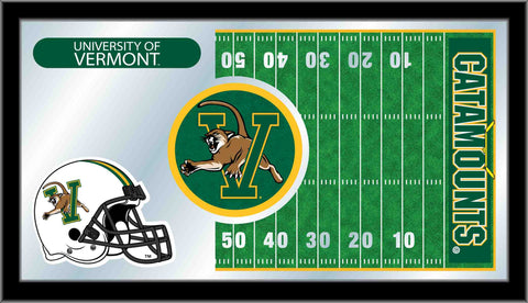 University of Vermont Football Bar Mirror