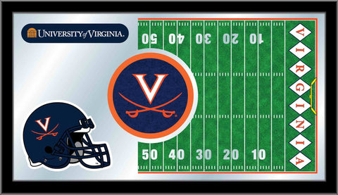 University of Virginia Football Bar Mirror