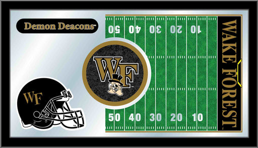 Wake Forest University Football Bar Mirror | Man Cave Authority | MFtblWakeFr