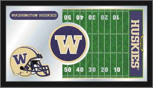 University of Washington Football Bar Mirror | Man Cave Authority | MFtblWashUn