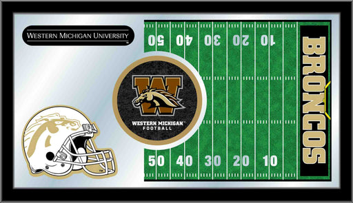 Western Michigan University Football Bar Mirror