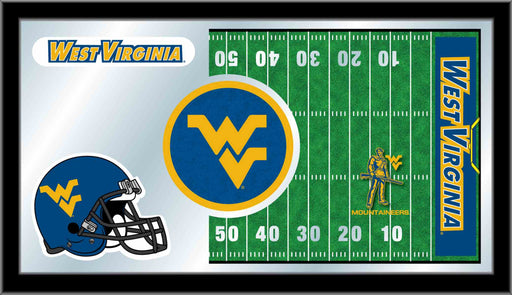 West Virginia University Football Bar Mirror