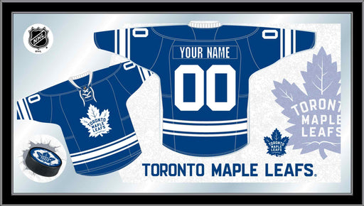 Toronto Maple Leafs Custom Jersey Bar Mirror | Man Cave Authority | MJrsyTorMpl