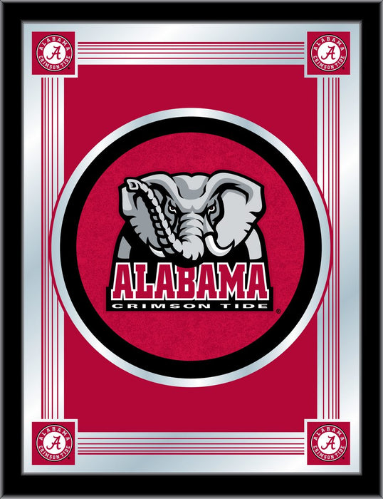 University of Alabama Elephant Logo Bar Mirror | Man Cave Authority | MLogoAL-Ele