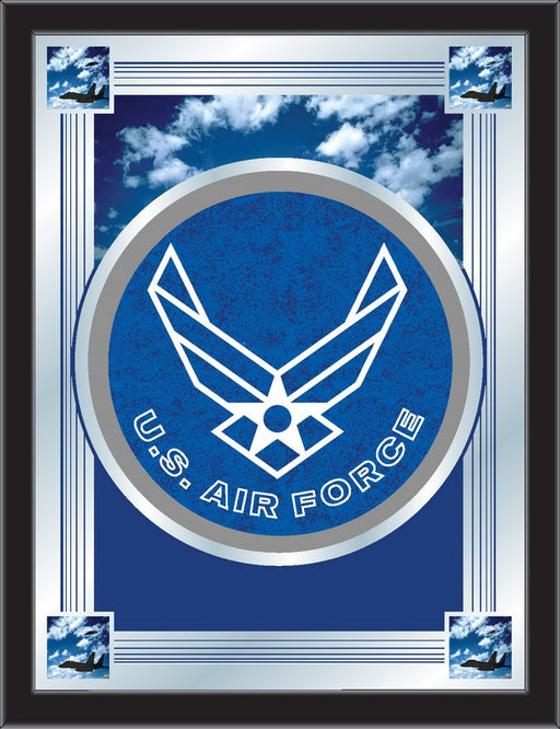 United States Air Force Bar Mirror | Man Cave Authority | MLogoAirFor