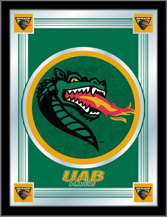 University of Alabama at Birmingham Bar Mirror | Man Cave Authority | MLogoAlaBir