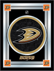 Anaheim Ducks Bar Mirror | Man Cave Authority | MLogoAnaDks
