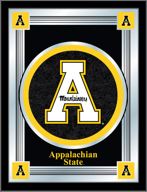 Appalachian State University Bar Mirror | Man Cave Authority | MLogoAppStU