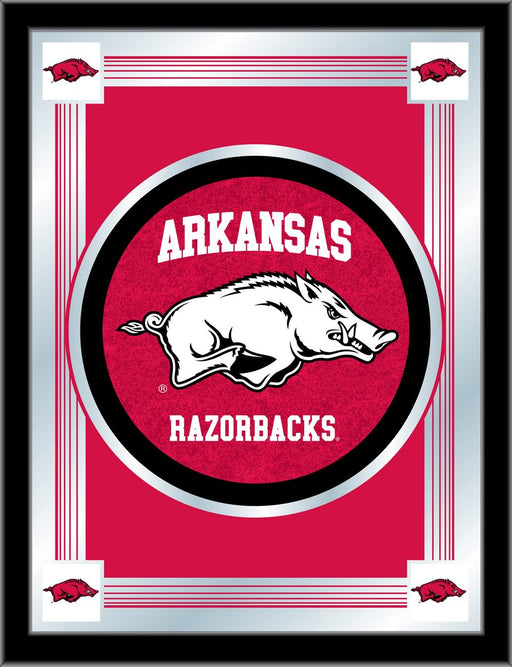 University of Arkansas Bar Mirror | Man Cave Authority | MLogoArknUn