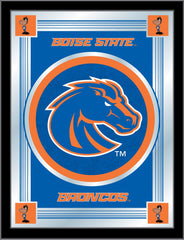 Boise State University Bar Mirror | Man Cave Authority | MLogoBoiseS