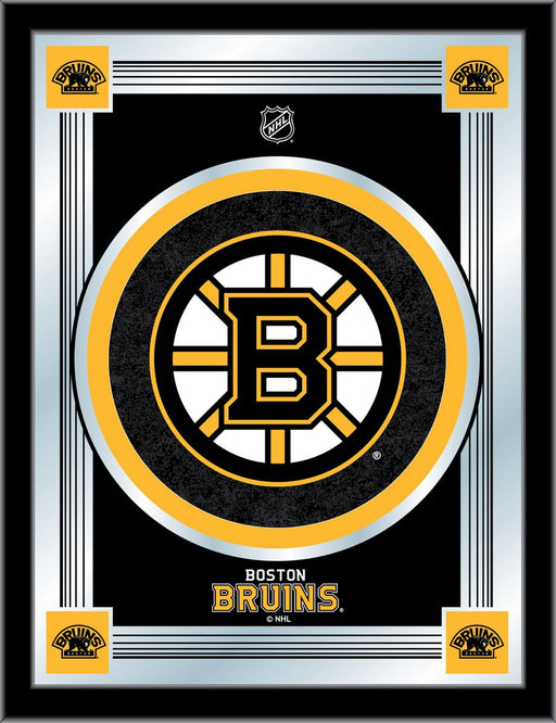 Boston Bruins Bar Mirror | Man Cave Authority | MLogoBosBru