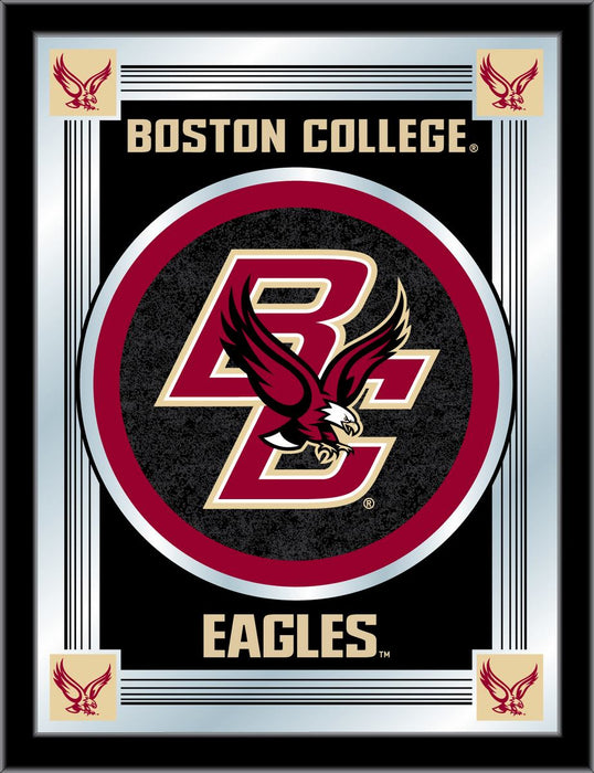 Boston College Bar Mirror | Man Cave Authority | MLogoBostnC