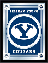 Brigham Young University Bar Mirror | Man Cave Authority | MLogoBrigYn