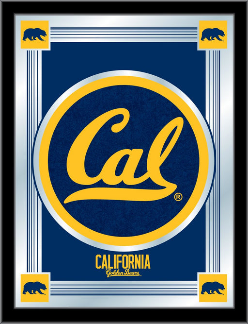 University of California (Cal) Bar Mirror | Man Cave Authority | MLogoCal-Un