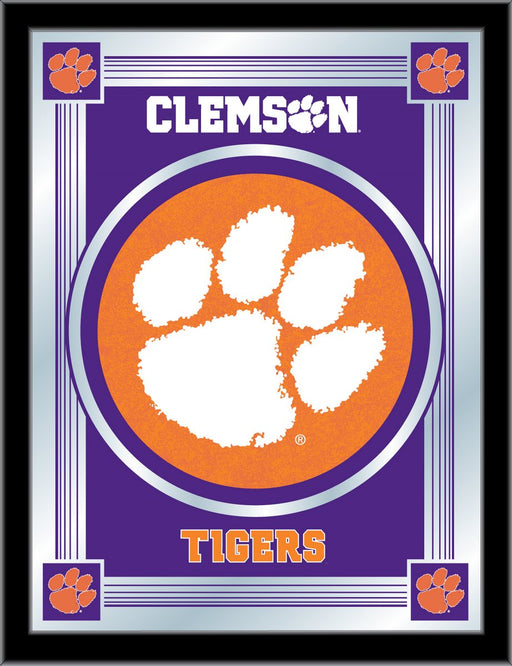 Clemson Bar Mirror | Man Cave Authority | MLogoClmson