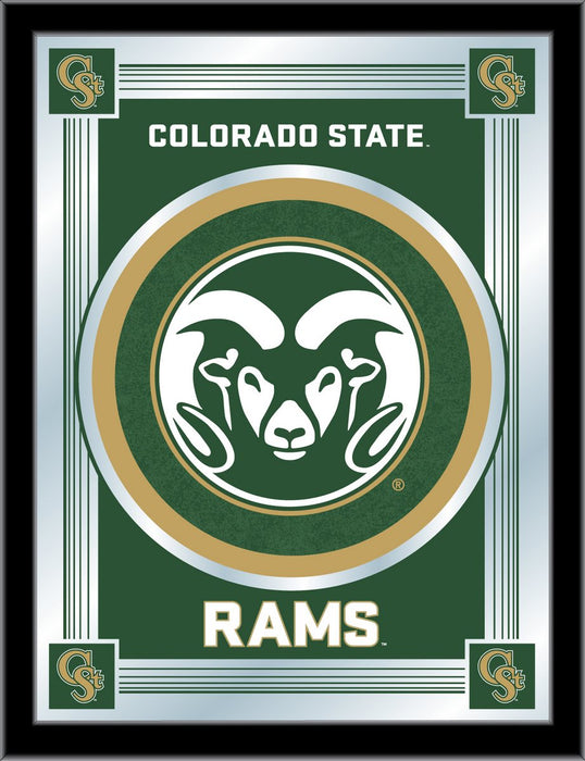 Colorado State University Bar Mirror | Man Cave Authority | MLogoColoSt