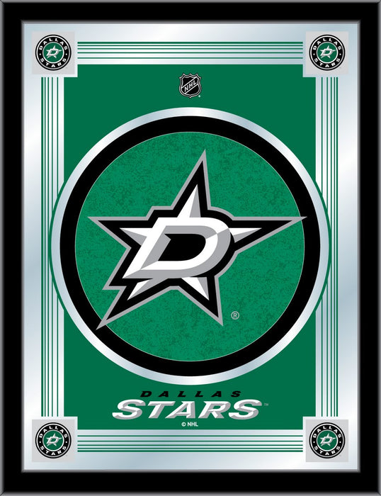 Dallas Stars Bar Mirror | Man Cave Authority | MLogoDalSta