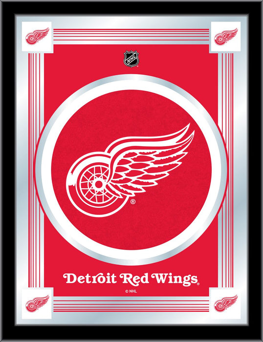 Detroit Red Wings Bar Mirror | Man Cave Authority | MLogoDetRed
