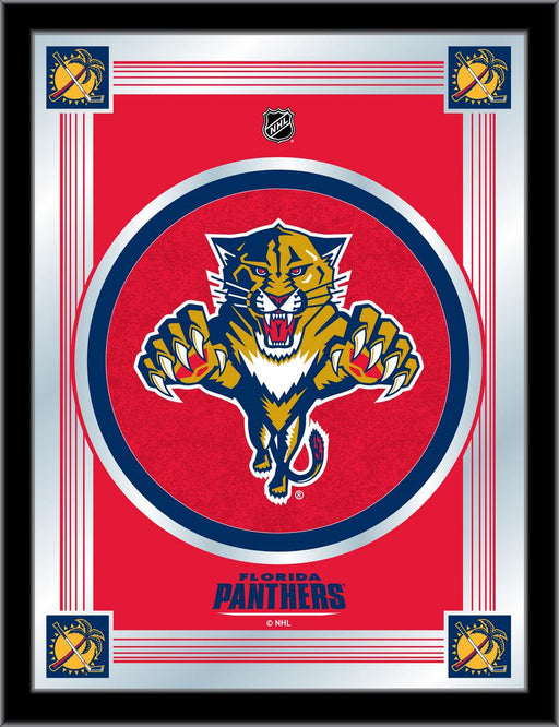 Florida Panthers Bar Mirror | Man Cave Authority | MLogoFlaPan