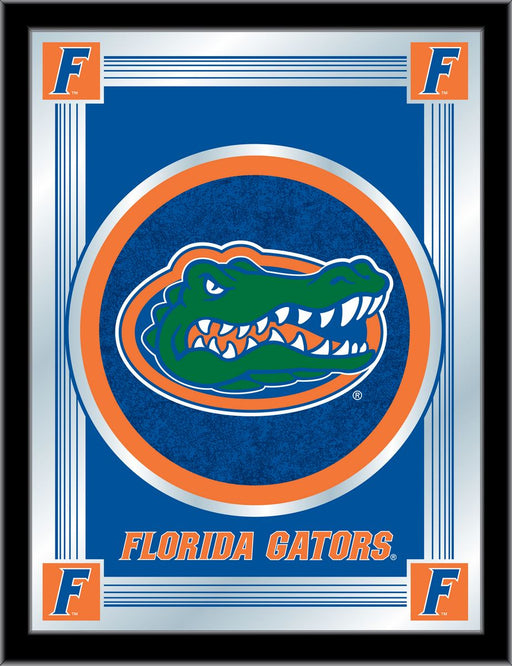 University of Florida Bar Mirror | Man Cave Authority | MLogoFlorUn