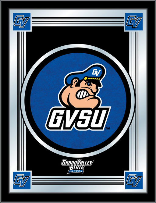 Grand Valley State University Bar Mirror | Man Cave Authority | MLogoGVStUn