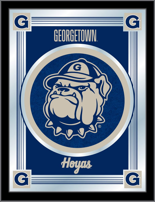 Georgetown University Bar Mirror | Man Cave Authority | MLogoGrgtwn