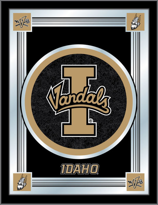 University of Idaho Bar Mirror | Man Cave Authority | MLogoIdahoU