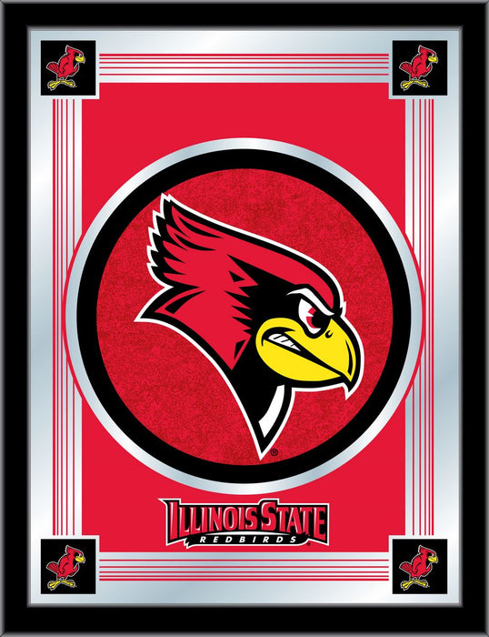 Illinois State University Bar Mirror | Man Cave Authority | MLogoIllStU