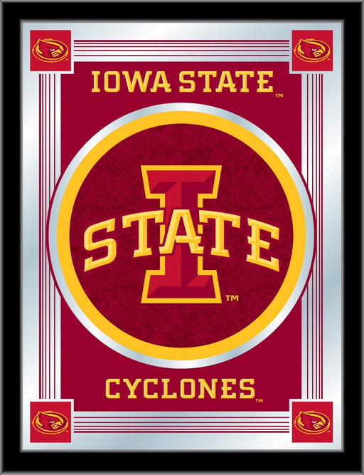 Iowa State University Bar Mirror | Man Cave Authority | MLogoIowaSt