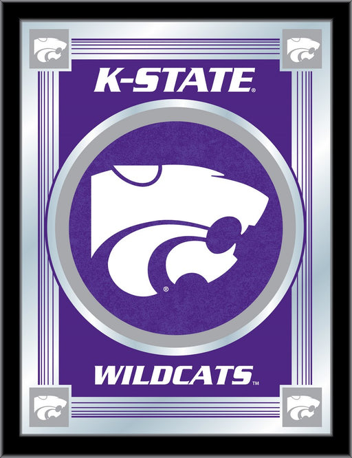 Kansas State University Bar Mirror | Man Cave Authority | MLogoKnsasS