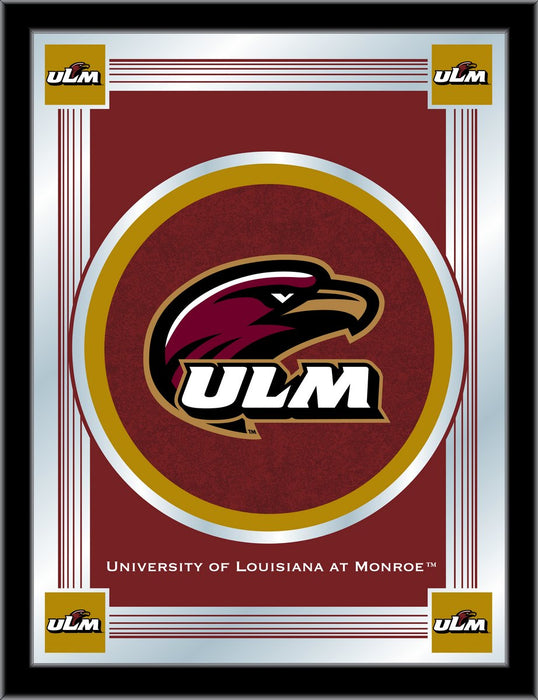 University of Louisiana at Monroe Bar Mirror | Man Cave Authority | MLogoLA-Mon