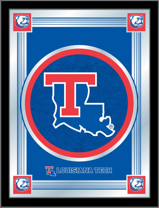 Louisiana Tech University Bar Mirror | Man Cave Authority | MLogoLaTech