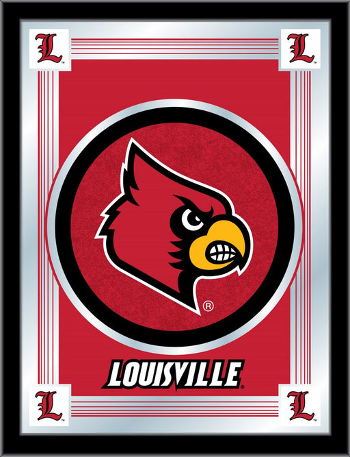 University of Louisville Bar Mirror | Man Cave Authority | MLogoLville
