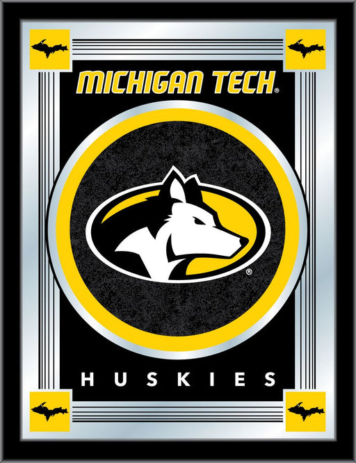 Michigan Tech University Bar Mirror | Man Cave Authority | MLogoMITech