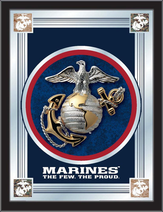 United States Marine Corps Bar Mirror | Man Cave Authority | MLogoMarine
