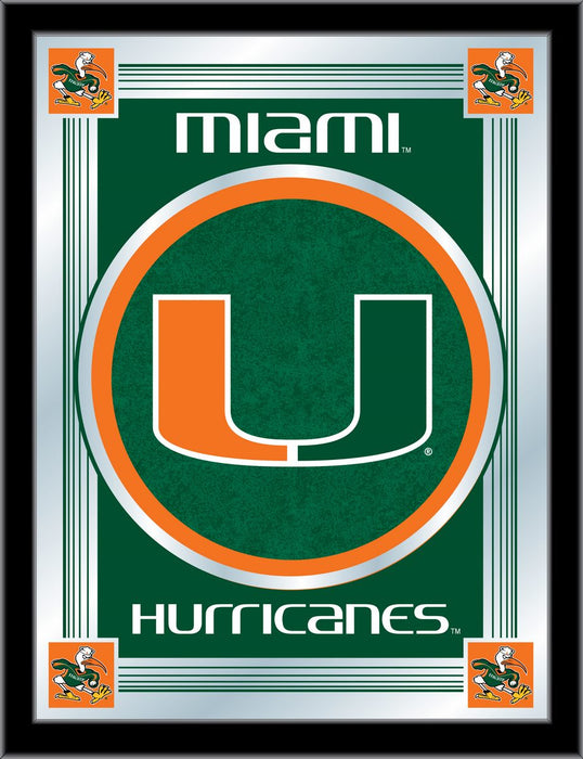 University of Miami (FL) Bar Mirror | Man Cave Authority | MLogoMia-FL