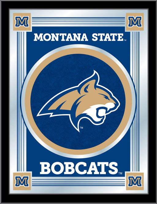Montana State University Bar Mirror | Man Cave Authority | MLogoMontSt