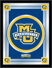 Marquette University Bar Mirror | Man Cave Authority | MLogoMrqtte