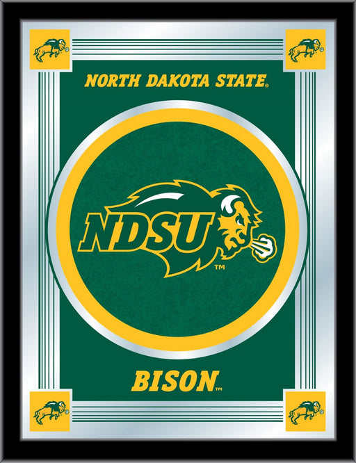 North Dakota State University Bar Mirror | Man Cave Authority | MLogoNDakSt