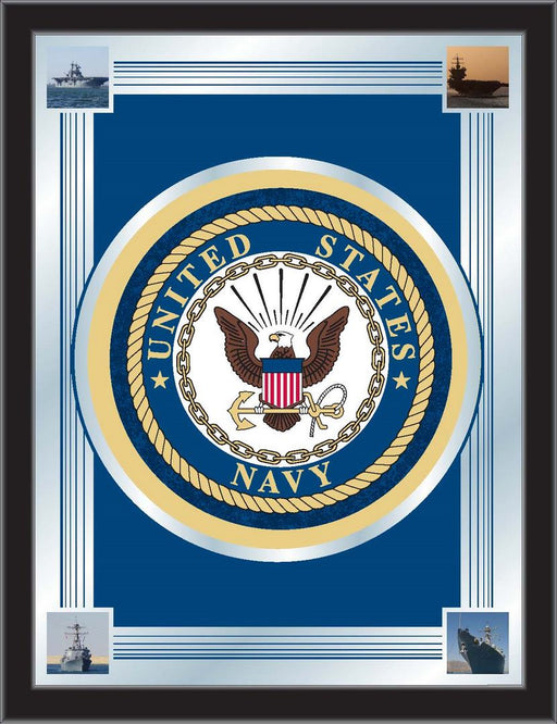 United States Navy Bar Mirror | Man Cave Authority | MLogoNavy