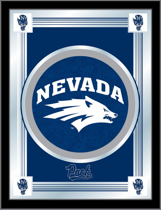 University of Nevada Bar Mirror | Man Cave Authority | MLogoNevaUn