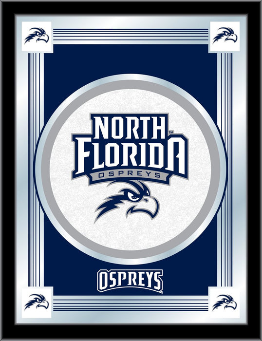 University of North Florida Bar Mirror | Man Cave Authority | MLogoNorFla