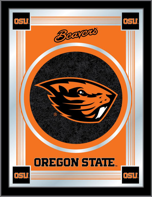 Oregon State University Bar Mirror | Man Cave Authority | MLogoOregSt