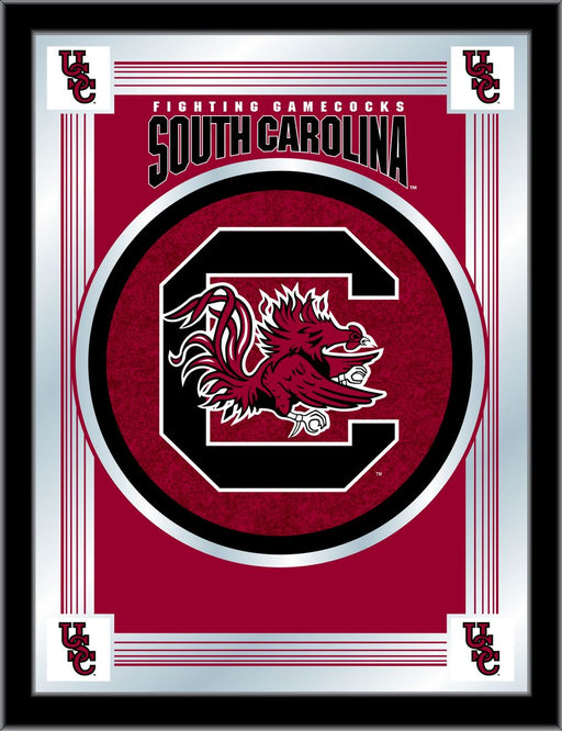 University of South Carolina Bar Mirror | Man Cave Authority | MLogoSouCar
