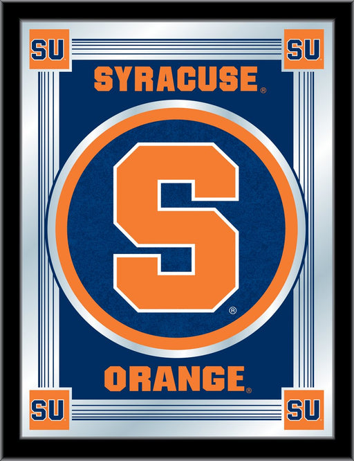 Syracuse University Bar Mirror | Man Cave Authority | MLogoSyrcse