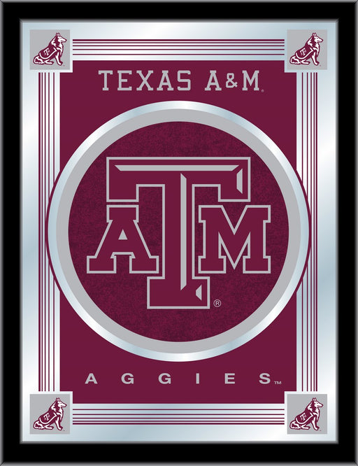 Texas A&M Bar Mirror | Man Cave Authority | MLogoTexA-M