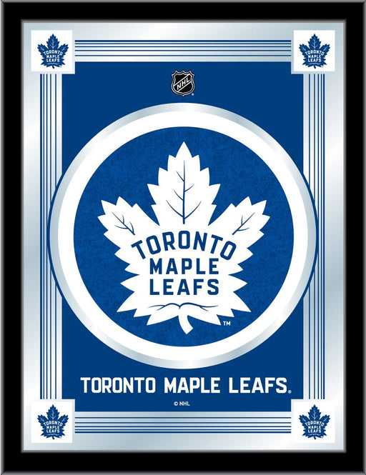 Toronto Maple Leafs Bar Mirror | Man Cave Authority | MLogoTorMpl
