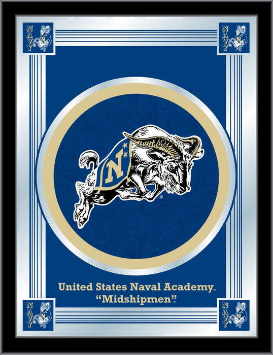 US Naval Academy Bar Mirror | Man Cave Authority | MLogoUSNavA